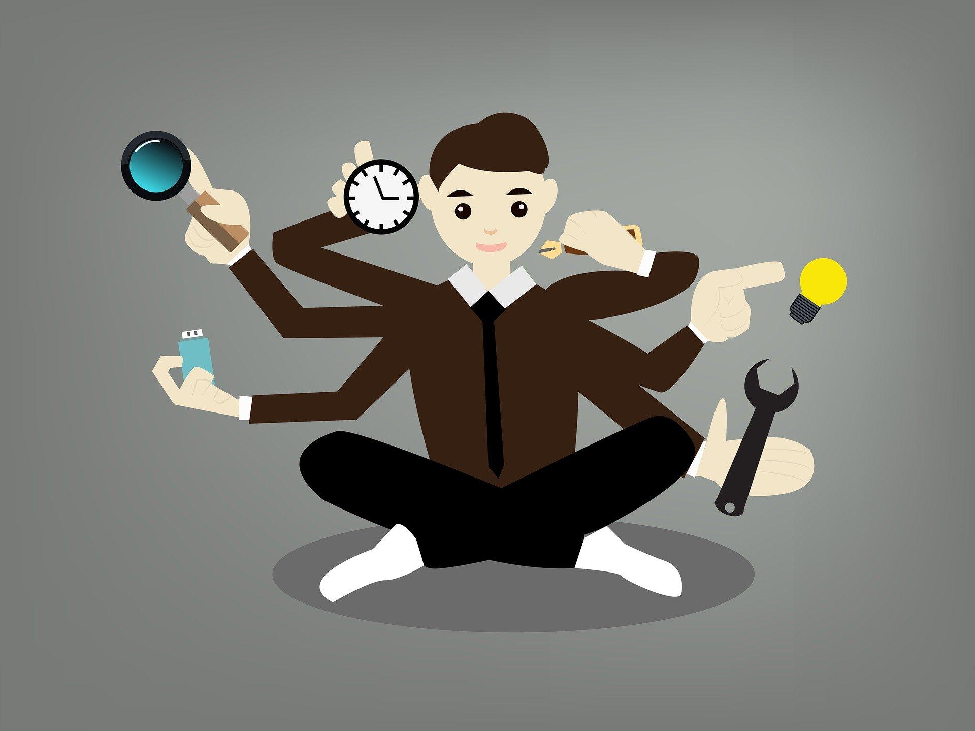Multitasking Changes Level of Success