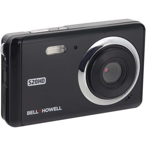 20-Megapixel 1080p HD S20HD Digital Camera (Black) 1