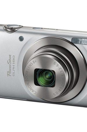 Canon 20.0-Megapixel PowerShot ELPH 180 HS Digital Camera Silver