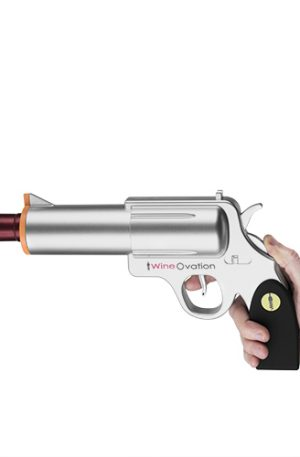 Gun Shaped Electric Wine Bottle Opener