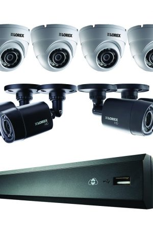 LOREX 16-Channel HD 1TB DVR with 4 Bullet/4 Dome HD Cameras