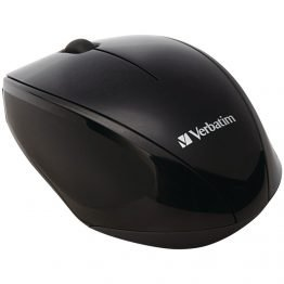 Wireless Multi-Trac Blue LED Optical Mouse (Black)