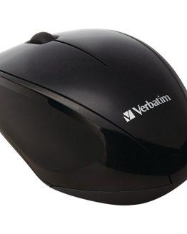 Wireless Multi-Trac Blue LED Optical Mouse (Black)