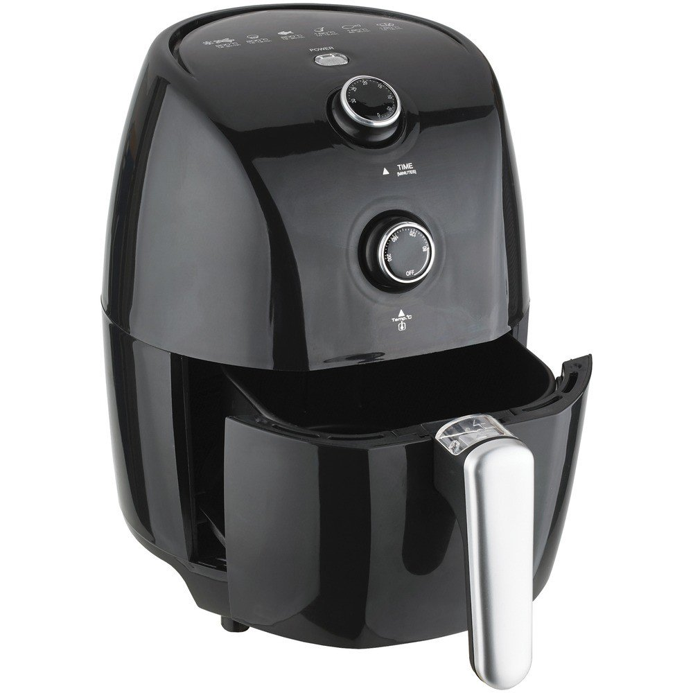Brentwood Appliances 1.6-Quart Small Electric Air Fryer open