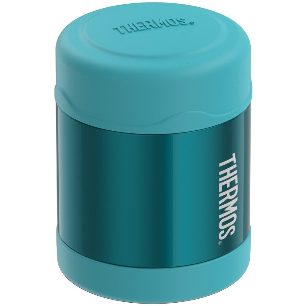 10-Ounce Stainless Steel Vacuum-Insulated FUNtainer Food Jar Teal