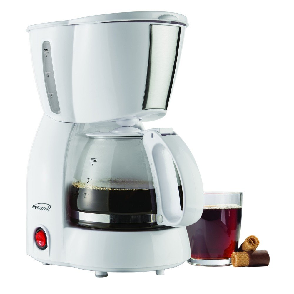 4-Cup Coffee Maker White