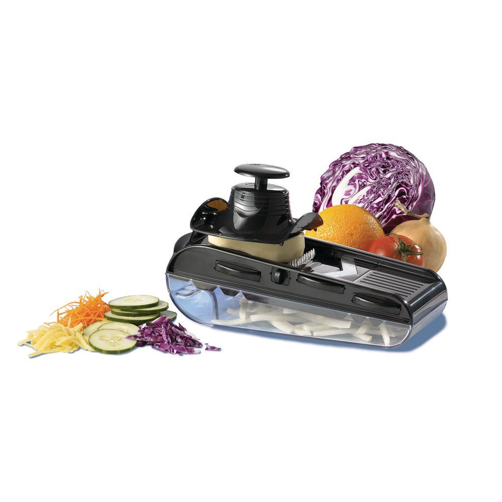 Easy Mandoline - Food Slicer, Chopper, Grater and Shredder