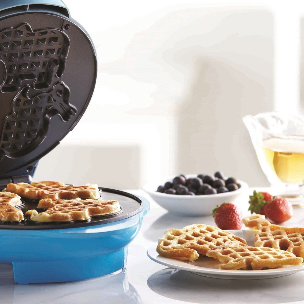 Nonstick Electric Food Maker (Animal-Shapes Waffle Maker)