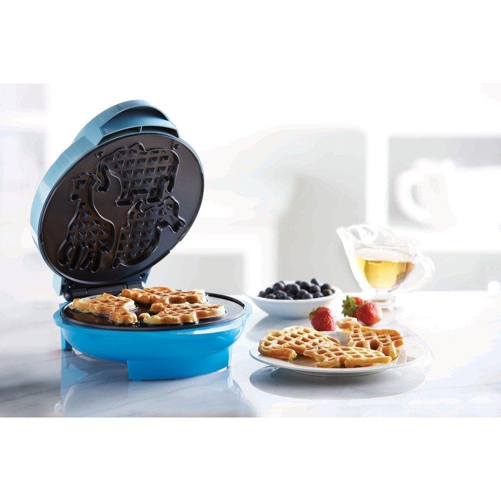 Nonstick Electric Food Maker (Animal-Shapes Waffle Maker)