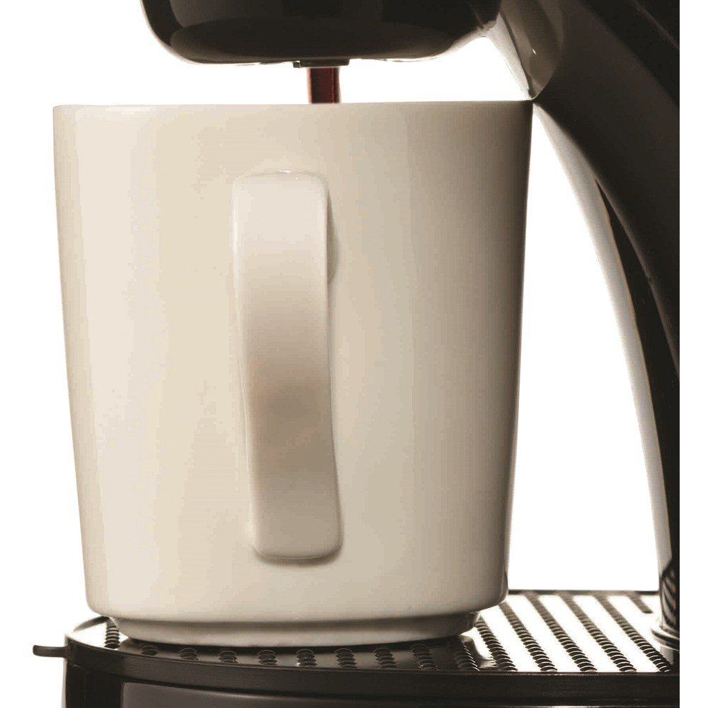 Single-Serve Coffee Maker with Mug Black