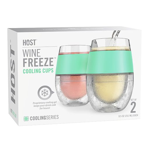Wine FREEZE Cooling Cups (set of 2) by HOST Mint