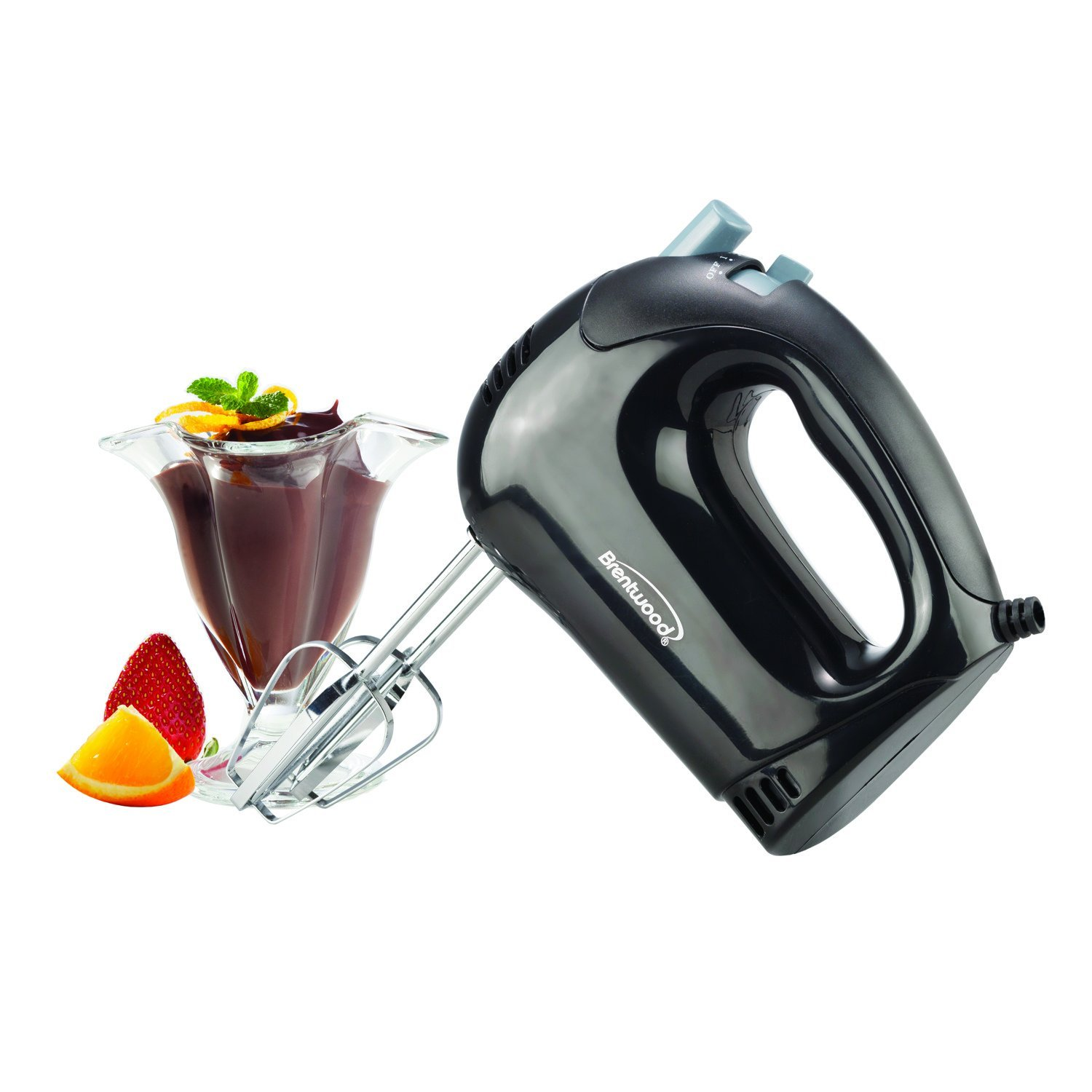 5-Speed Electric Hand Mixer black
