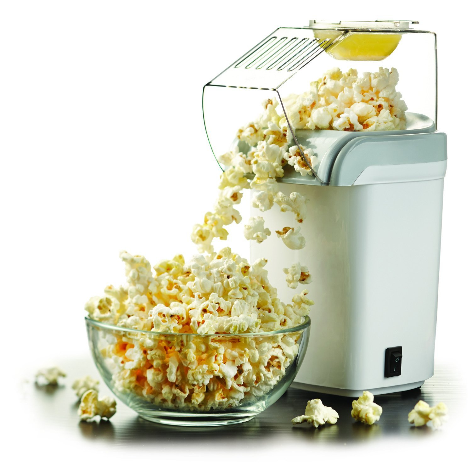 8-Cup Hot-Air Popcorn Maker
