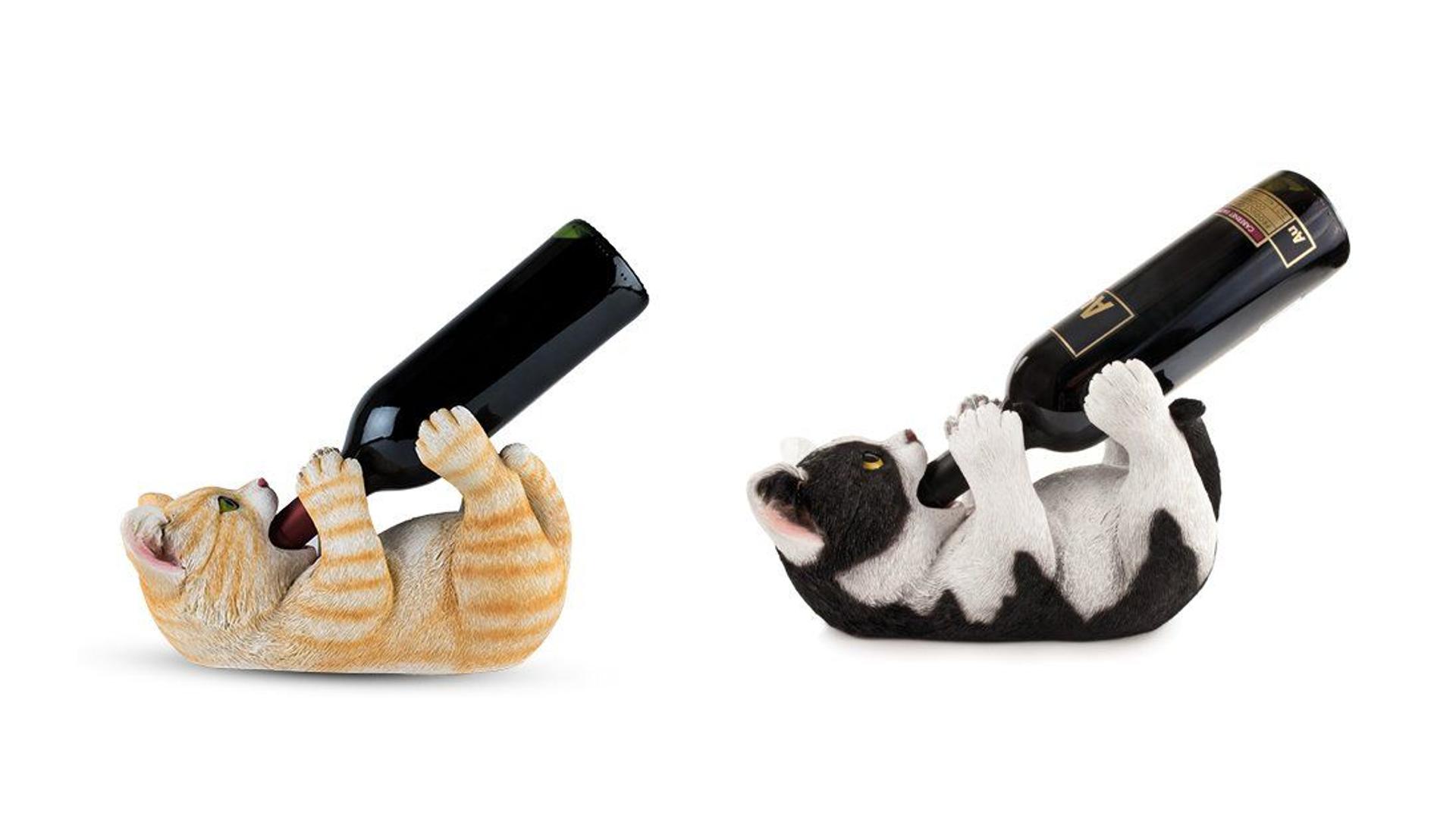 Cat Kitten Theme Wine Bottle Holder