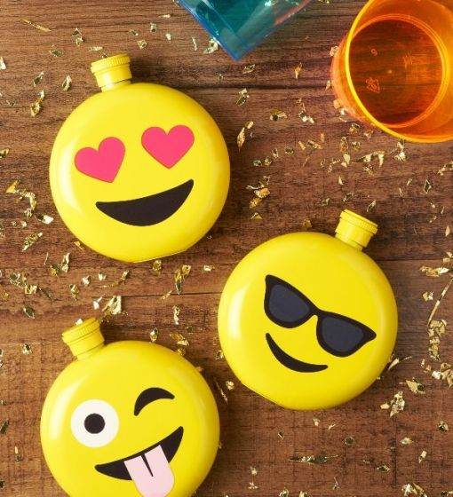 Cool Assorted Emoji Flasks