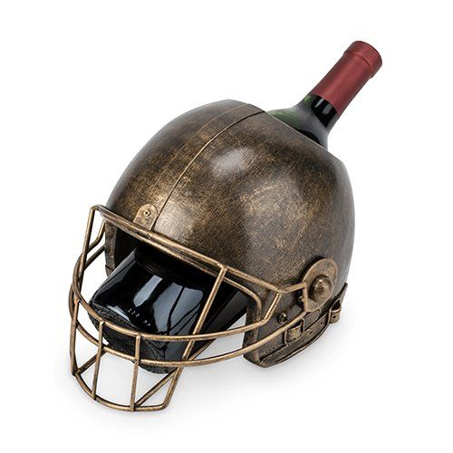 Football Helmet Wine Bottle Holder