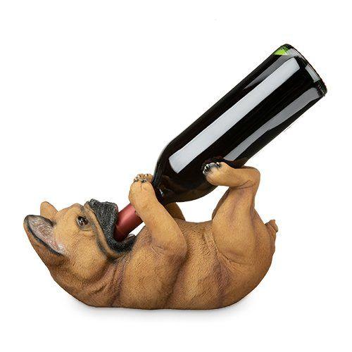 French Bulldog Wine Bottle Holder