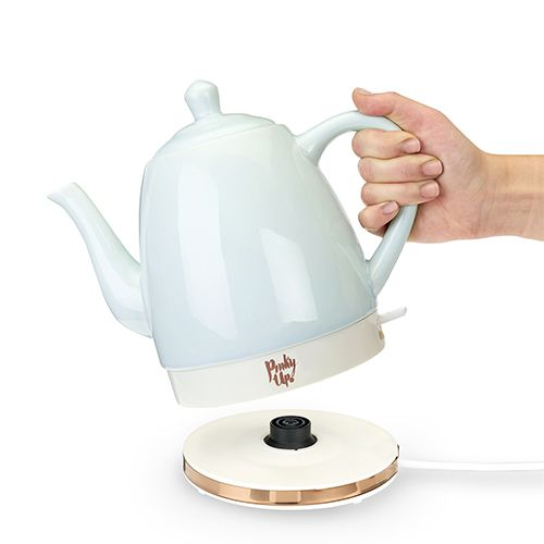 Noelle Ceramic Electric Tea Kettle