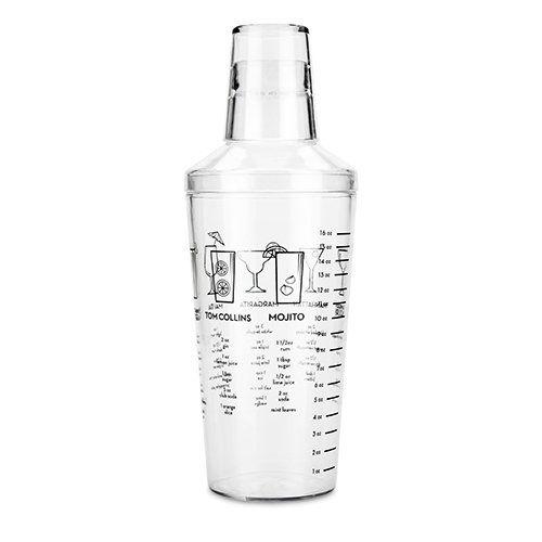 Plastic Recipe Shaker