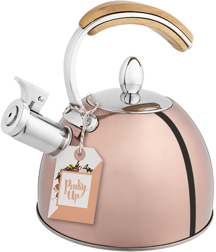 Presley™ Rose Gold Tea Kettle by Pinky Up®