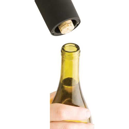 Rechargeable Electric Battery Corkscrew With Foil Cutter