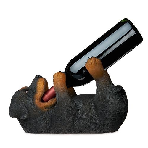Rottweiler Wine Bottle Holder