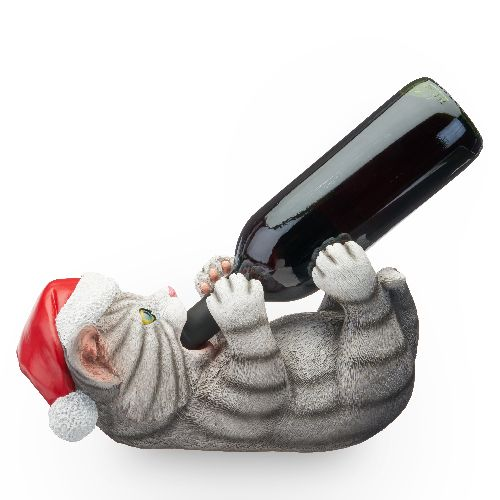 SANTA PAWS BOTTLE HOLDER