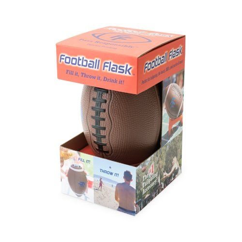 Soft Foam Football Flask