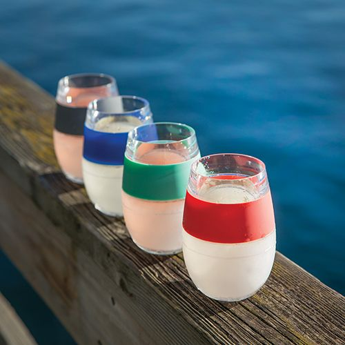 Wine FREEZE Cooling Cups (set of 4) by HOST