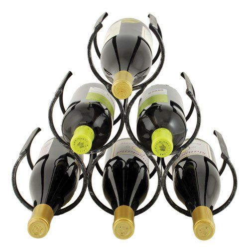 Wine Shrine Metal Bottle Holder