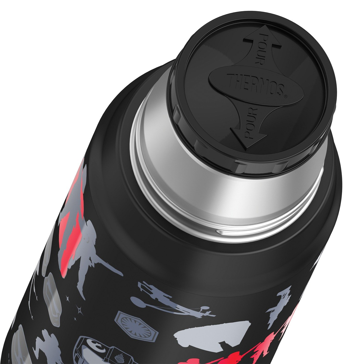 16-Ounce Thermos Stainless Steel Compact Bottle - Star Wars Episode VII #TNF