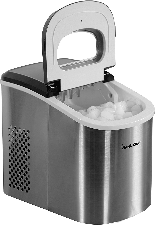 27lb-Capacity Ice Maker