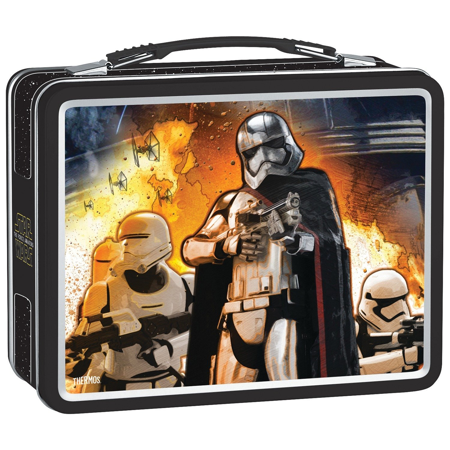 Metal Lunch Kit, Star Wars® Episdoe VII Kylo Ren® Captain Phasma® front