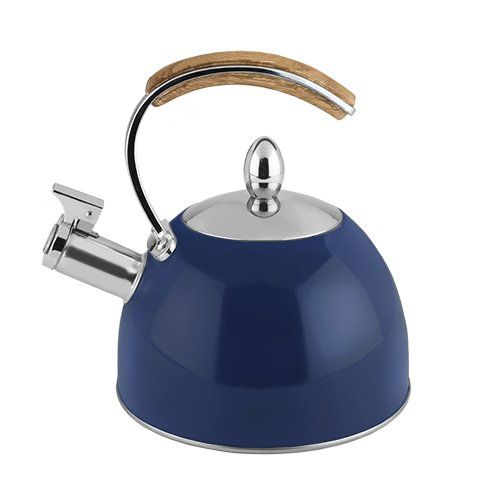 Presley™ Tea Kettle by Pinky Up® - Navy Blue