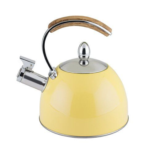 Presley™ Tea Kettle by Pinky Up® - Yellow