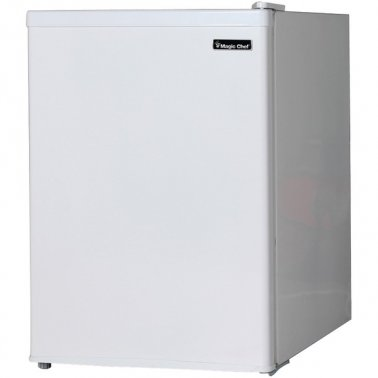 2.4 Cubic-ft Refrigerator (White)