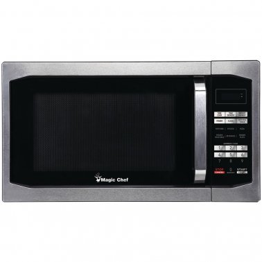 1.6 Cubic-ft Countertop Microwave (Stainless Steel)