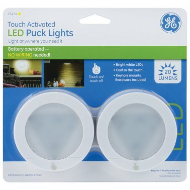 Puck Light, 2 pk