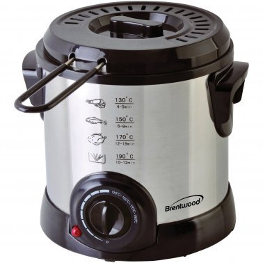1-Liter Stainless Steel Electric Deep Fryer