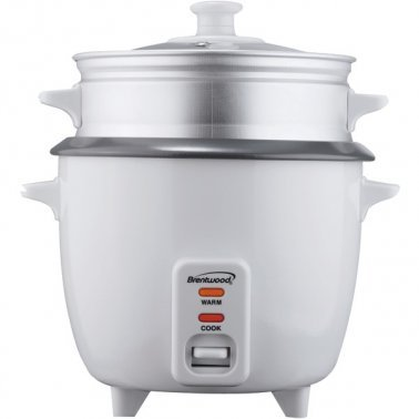 Rice Cooker with Food Steamer (5 Cups, 400 Watts)