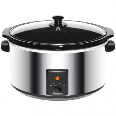 8-Quart Stainless Steel Slow Cooker
