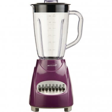 50-Ounce 12-Speed + Pulse Electric Blender with Plastic Jar (Purple)