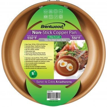Non Stick Induction Copper Frying Pan (8 Inch)